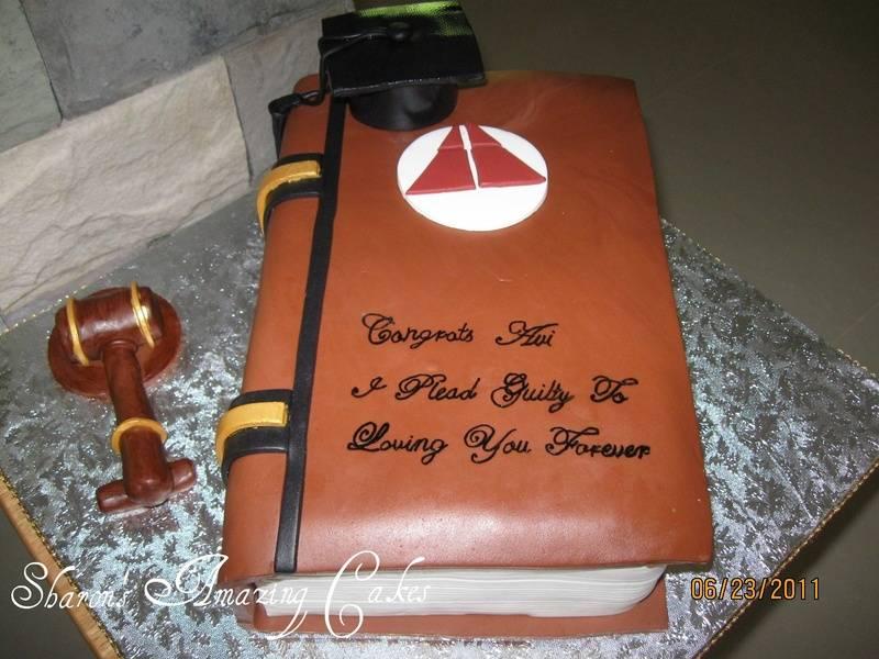 CAKE 31A1 -Book Cake