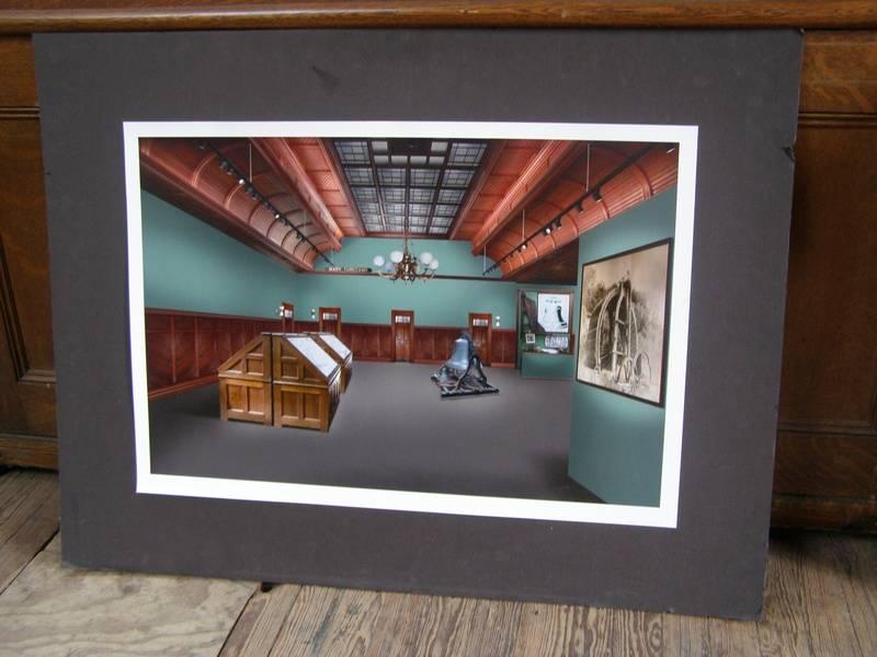 Artist's rendering of new museum space