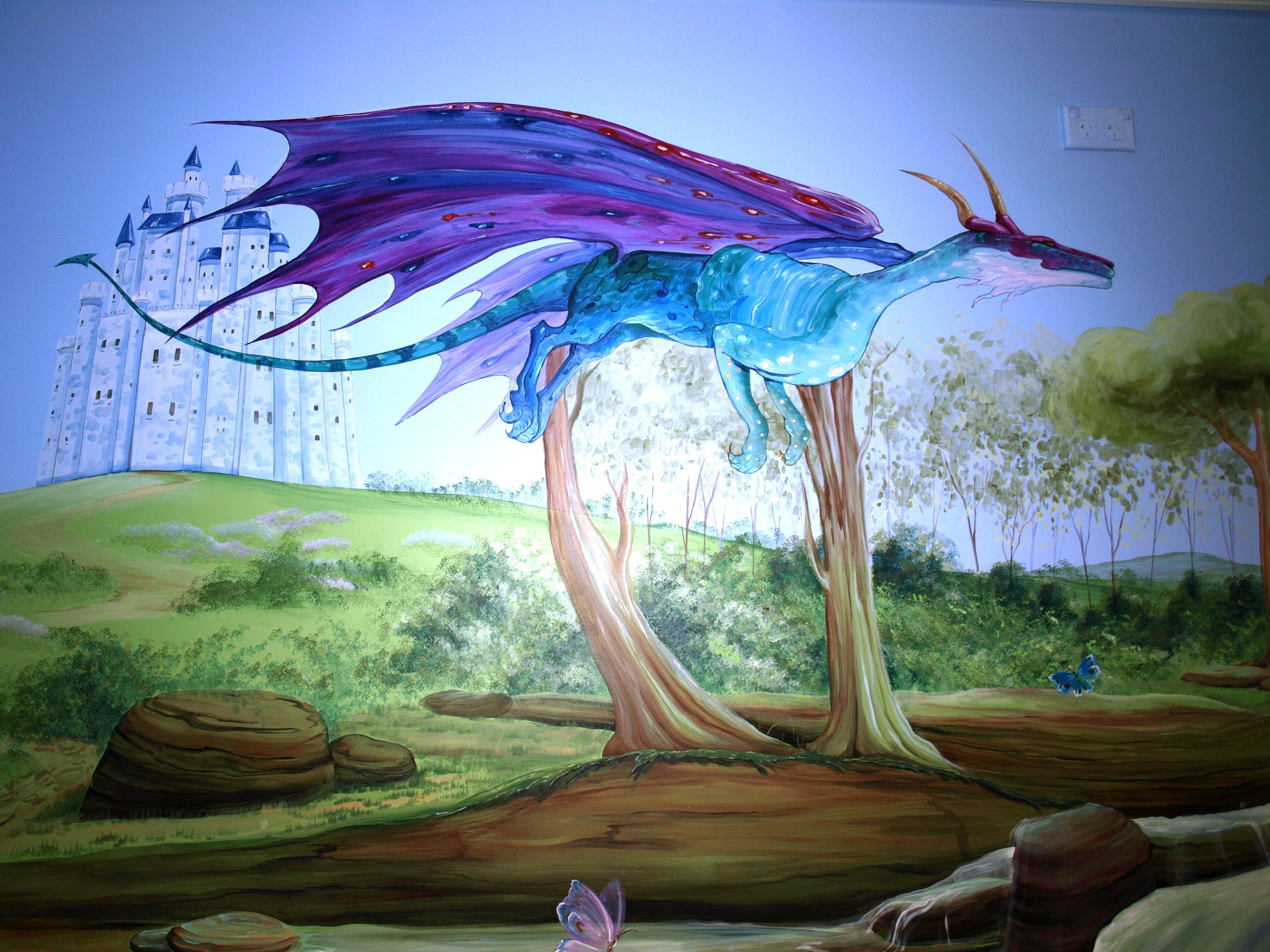 FOREST  diva the dragon