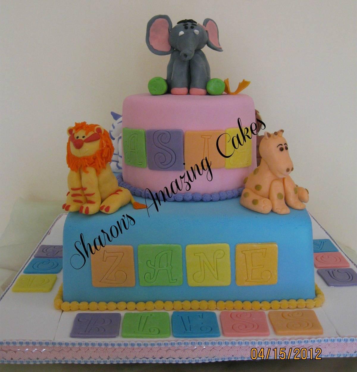 CAKE 10BABY -Baby Animals Cake
