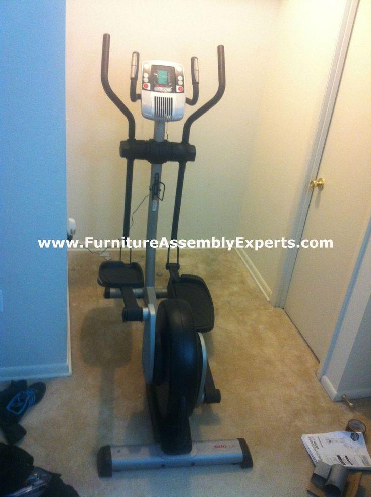 proform elliptical assembly service in fairfax VA