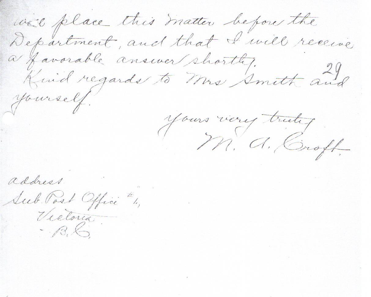 lighthouse - Mary Ann Croft. 1911 (2 of 2)