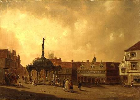 View of Cornhill by George Frost