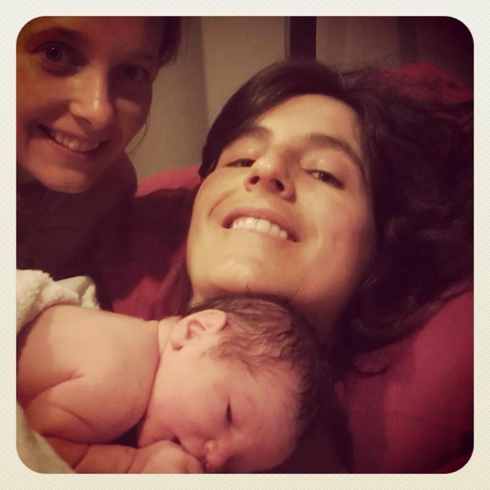 Birth Center VBAC mama Mila