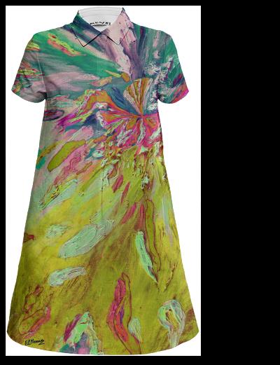 Design4 shirt mini dress