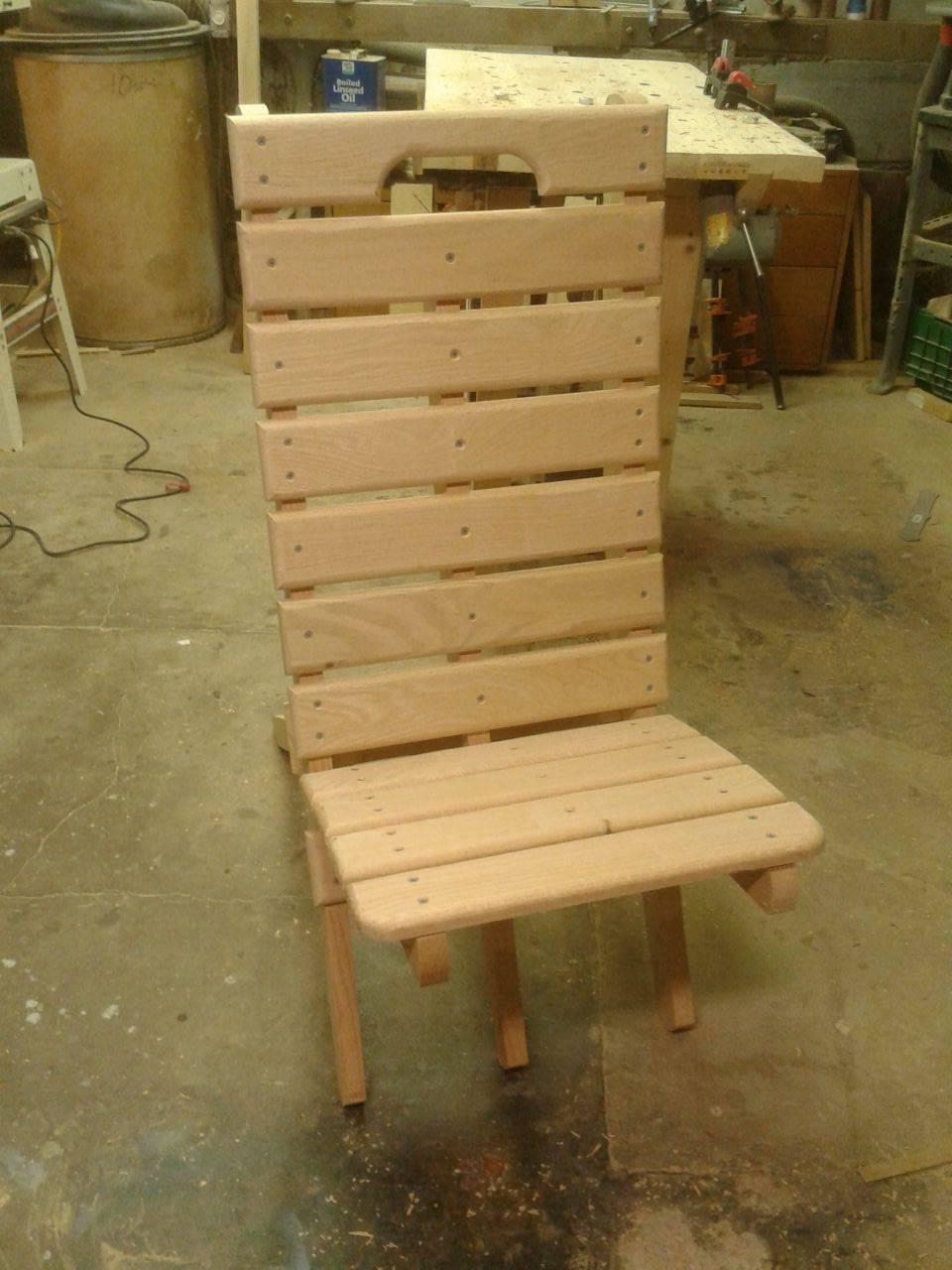 Camp Chair, Heavy duty