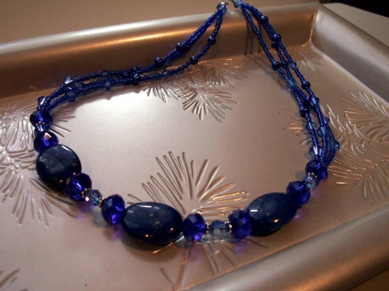 Lapis and Cobalt Crystal