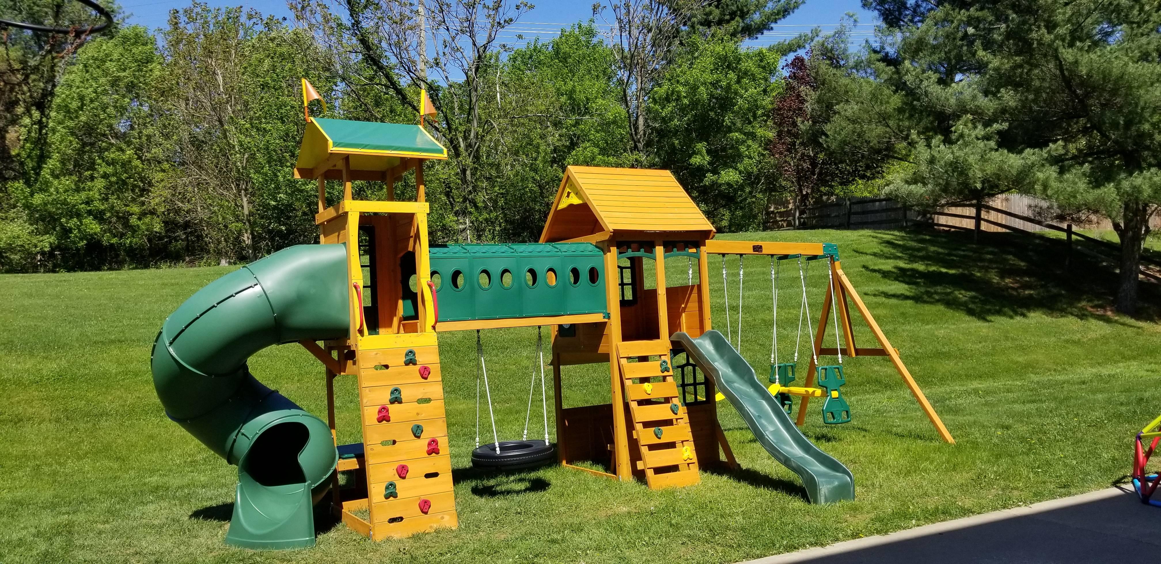 swing set installers in haymarket VA