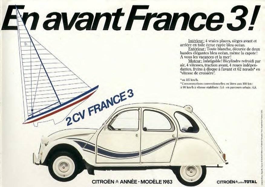 Unieke eigenschappen 2PK France3