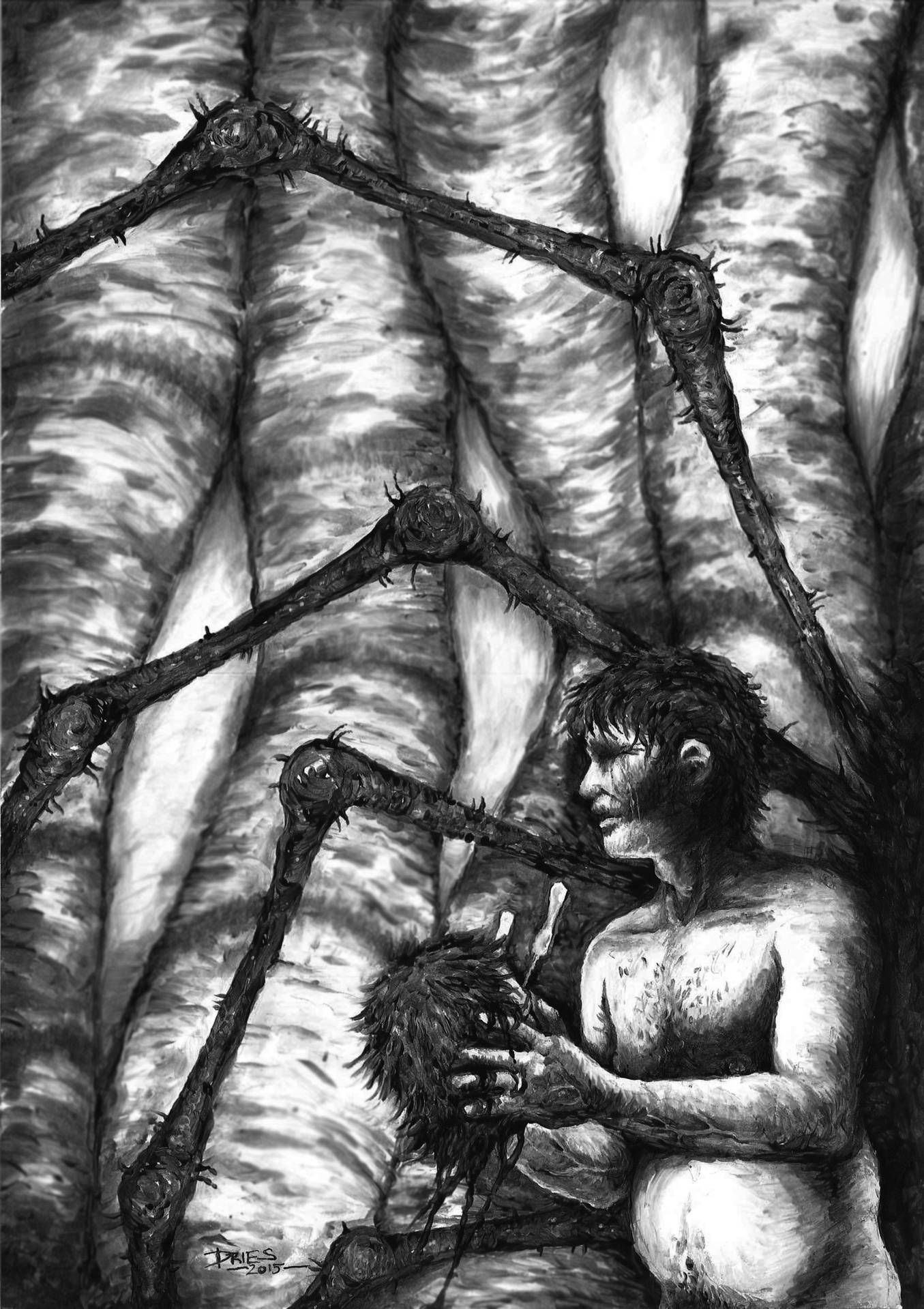 Love Amongst the Red Back Spiders - a story by Aaron Dries