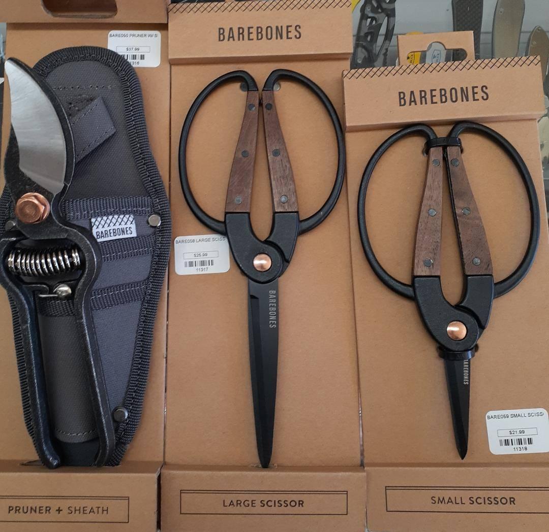 Pruners, trimming scissors