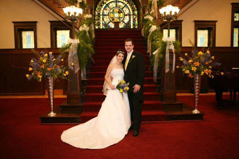 Newly Married at Scottish Rite