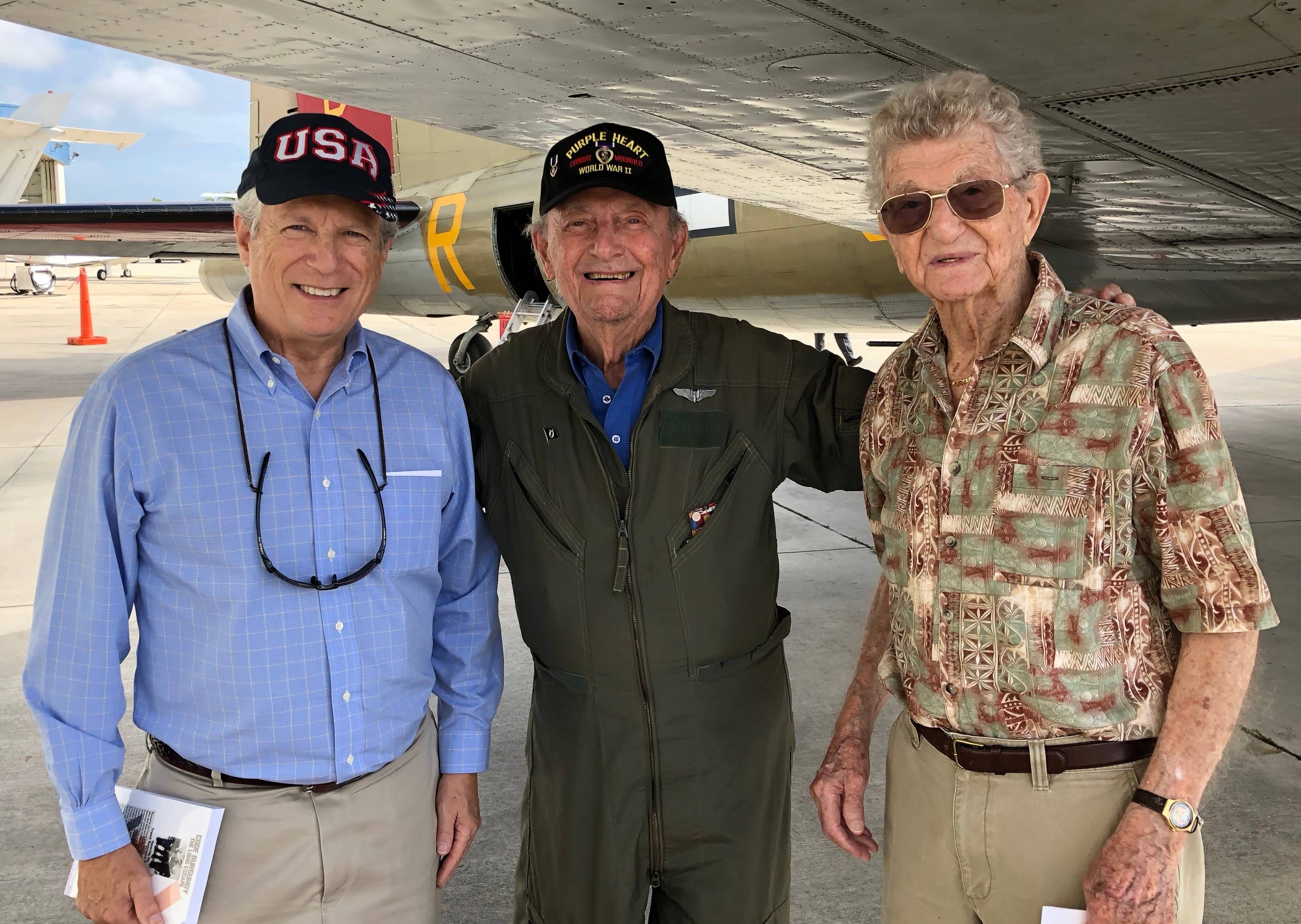 Filmmaker and 2 veterans of WWII