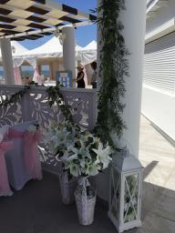 Details from ceremony venue.