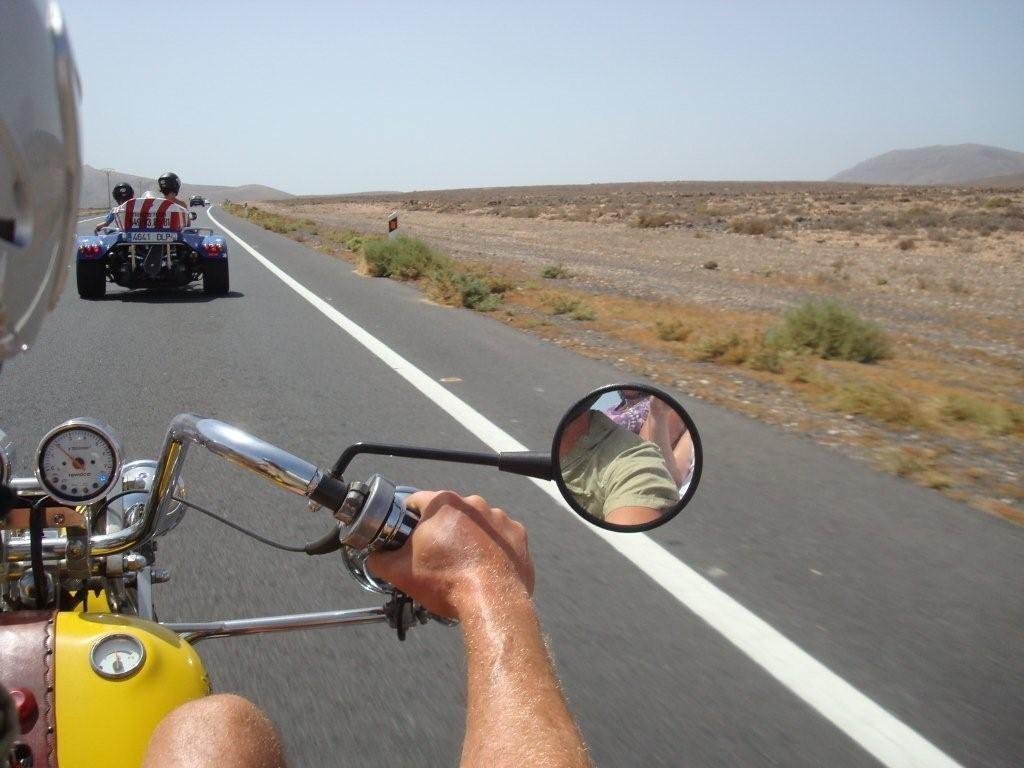 Los Alares - goat farm road