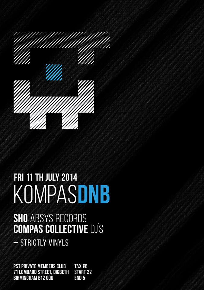 2014.07.11 - Kompas Drum And Bass @ Birmingham