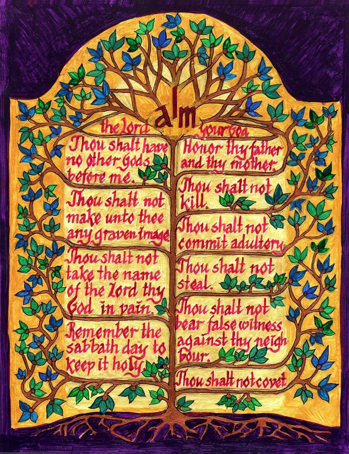 I AM the Law: The Ten Commandments