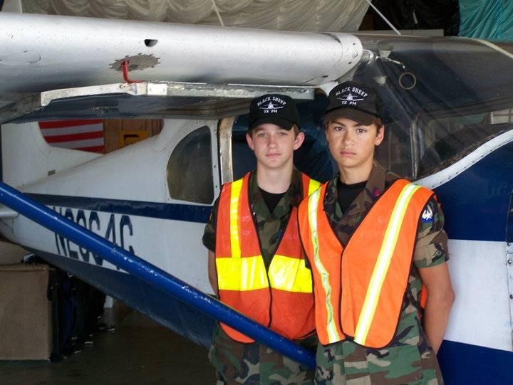 Cadets find ELT in jump school airplane still in the hangar