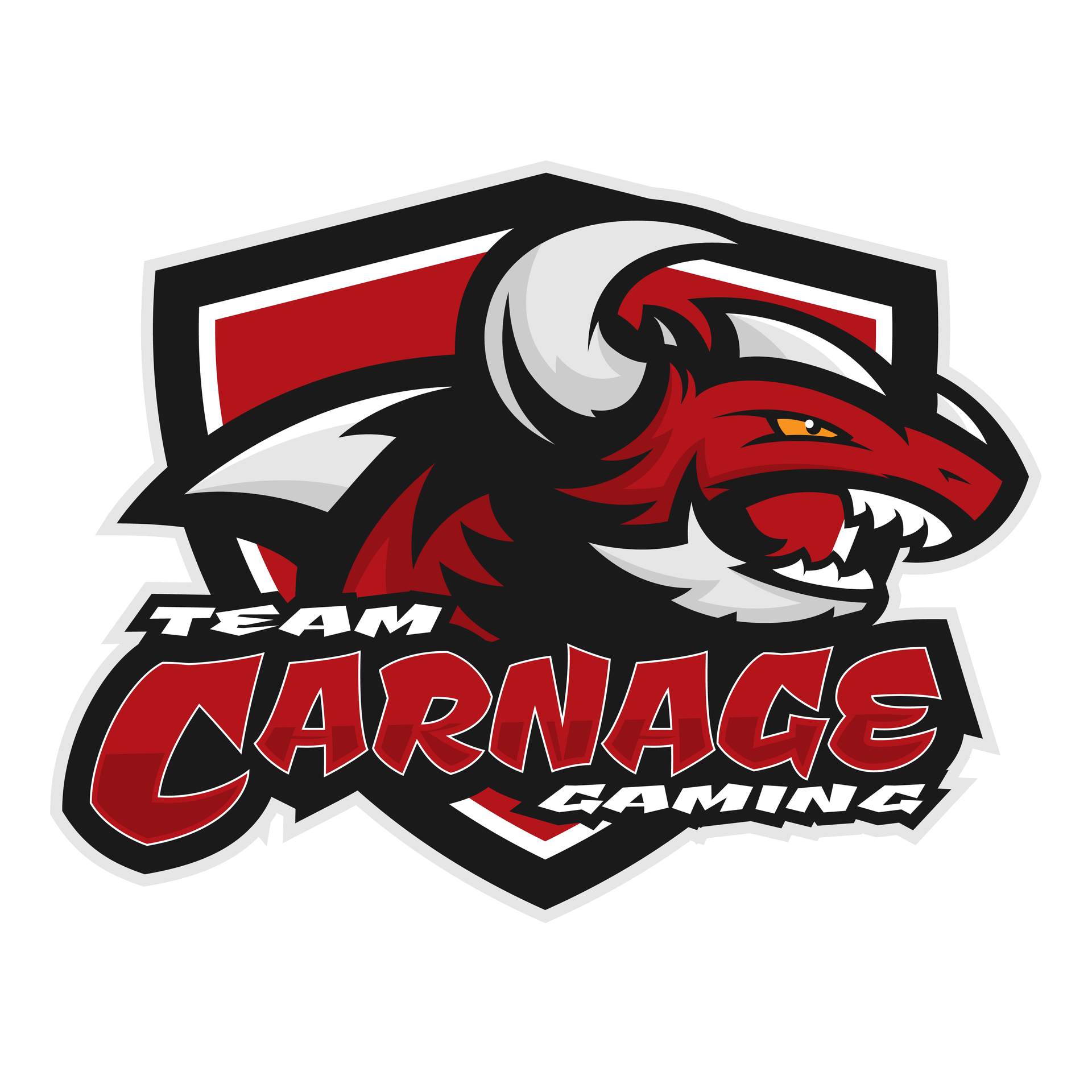 Official Team Carnage Gaming logo (with shield)