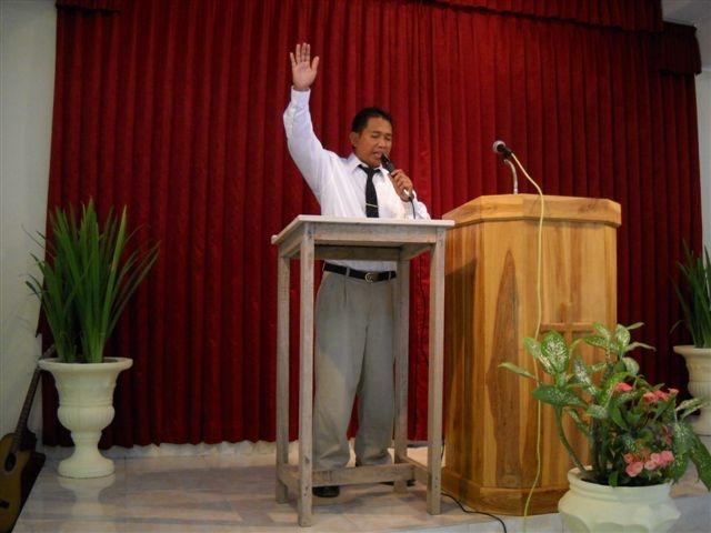 Wayan Preaching