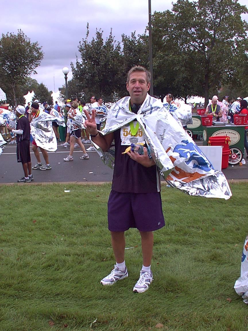 Twin Cities Marathon Finish Area