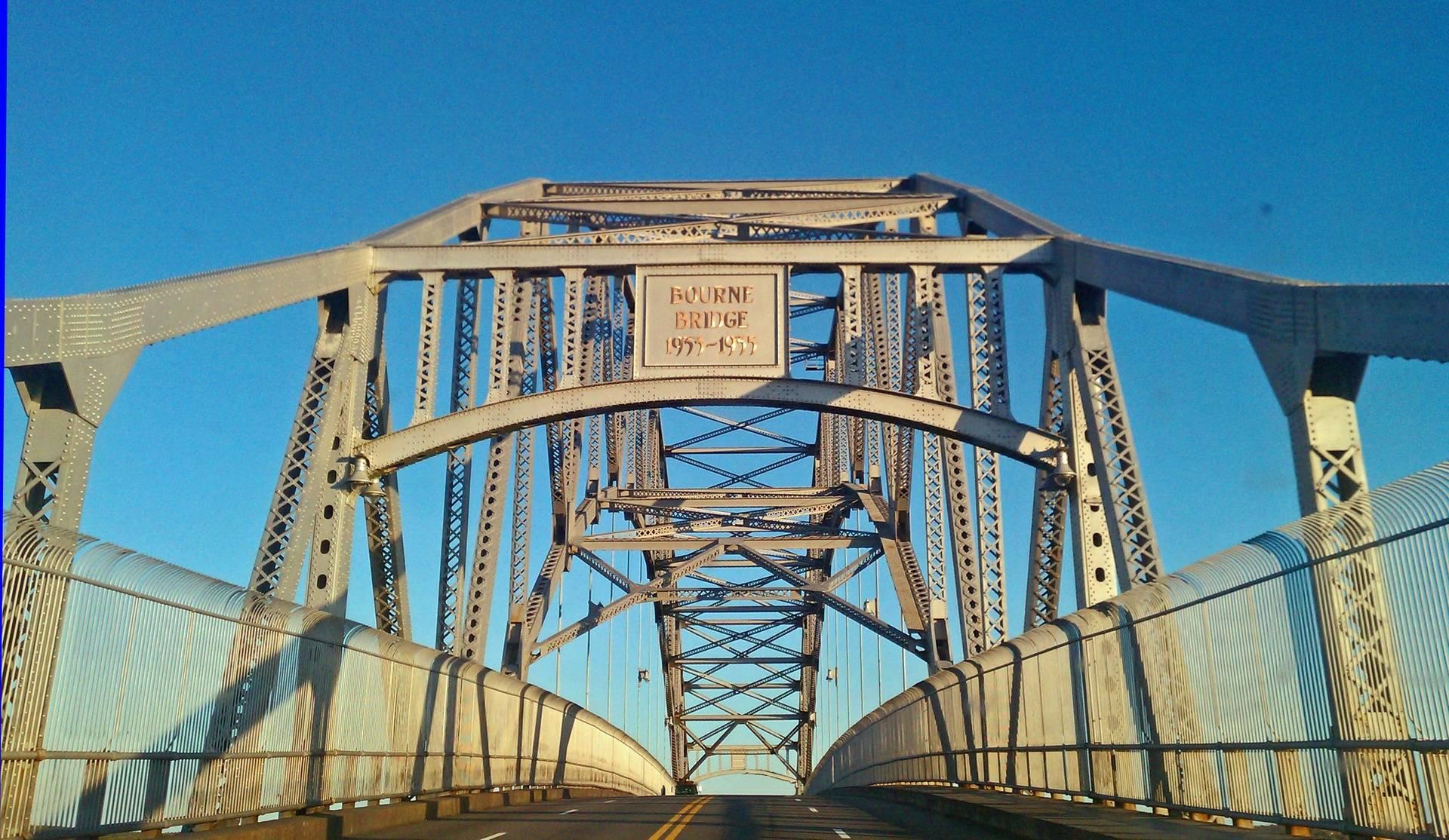 Crossing the Bourne Bridge