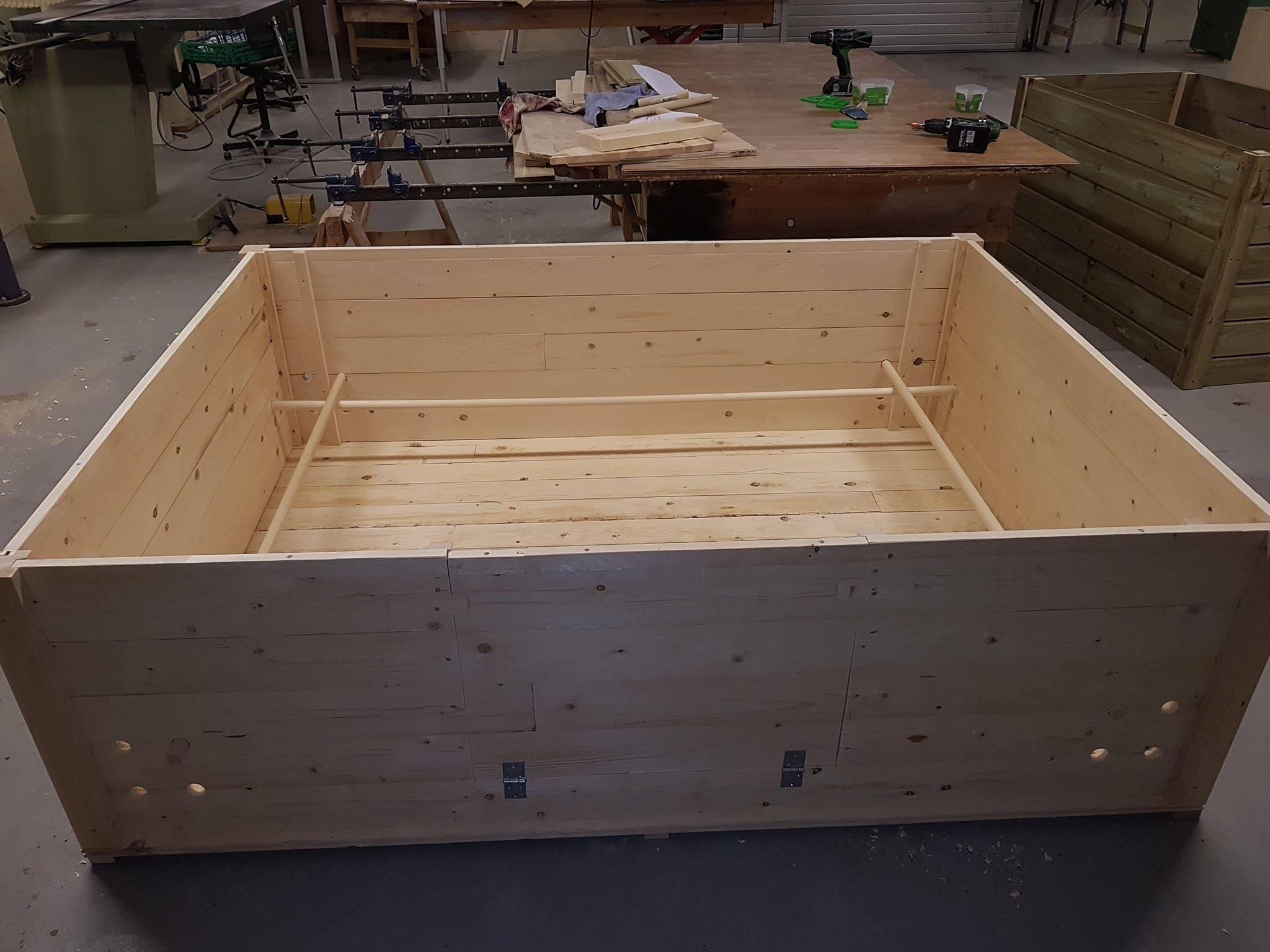 Stor valpe-kasse