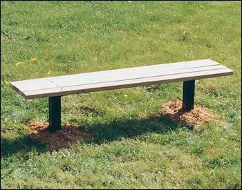 Inground bench