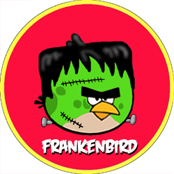 Angry Bird Monsters Frankenbird