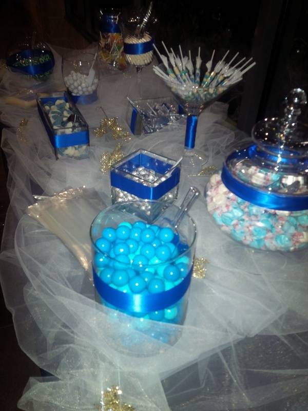 Winter Wonderland Candy Bar