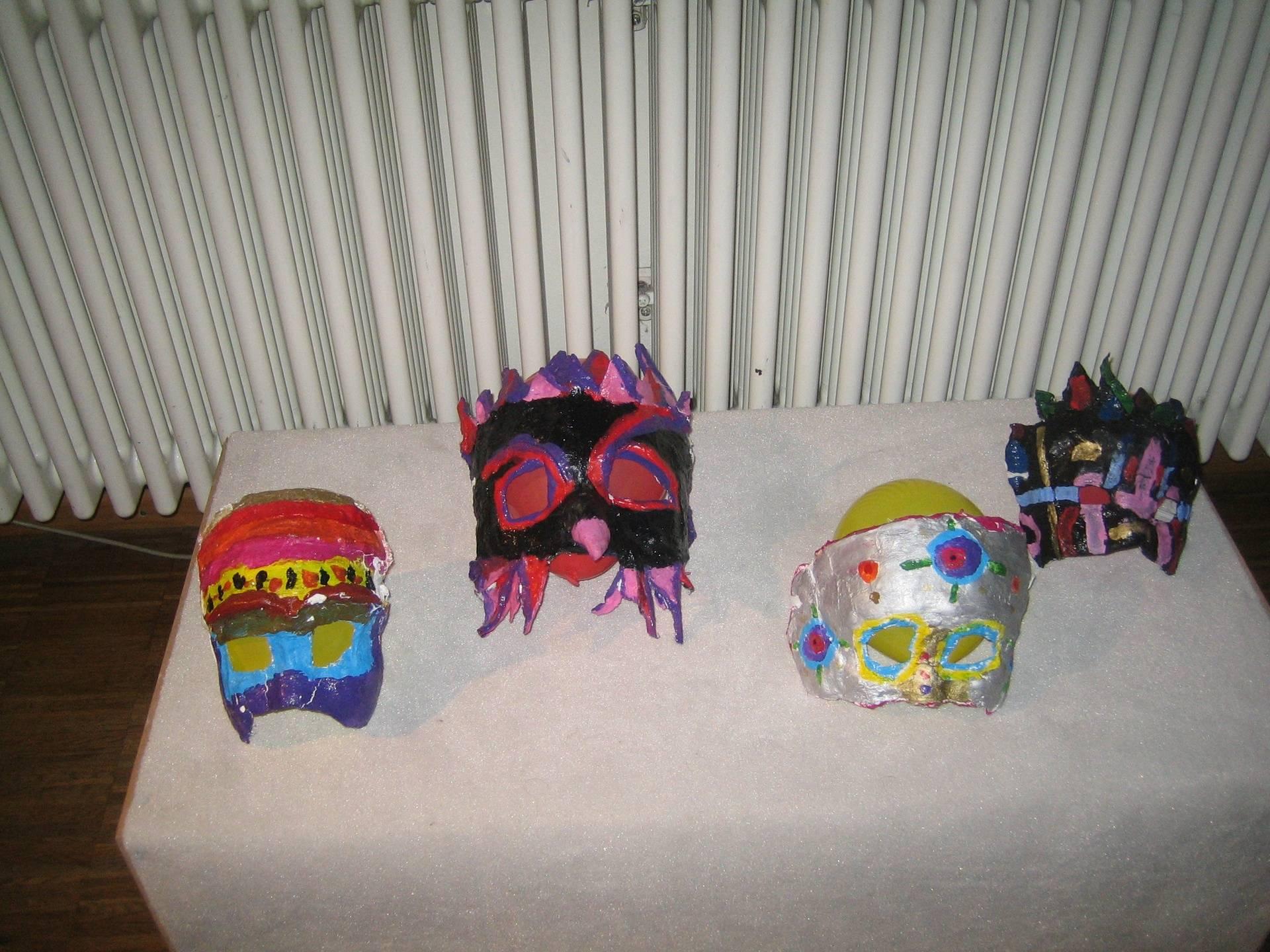 Meine Maske und ich
