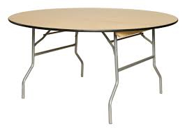 "60"" Wooden Table $10.00ea"