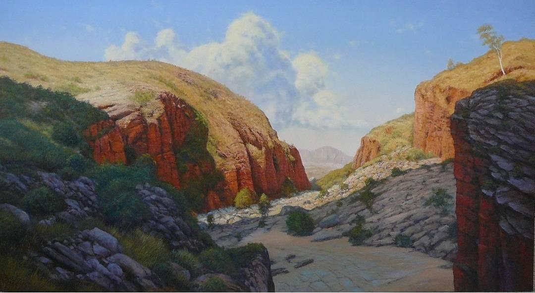 Ormiston Gorge - Top End