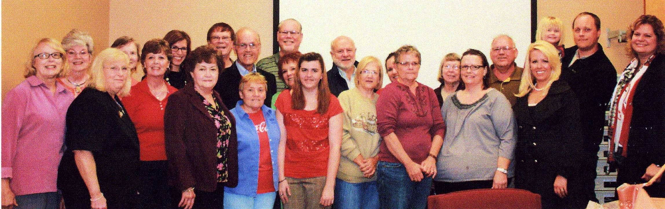 Chamber Staff and LCCPS Members