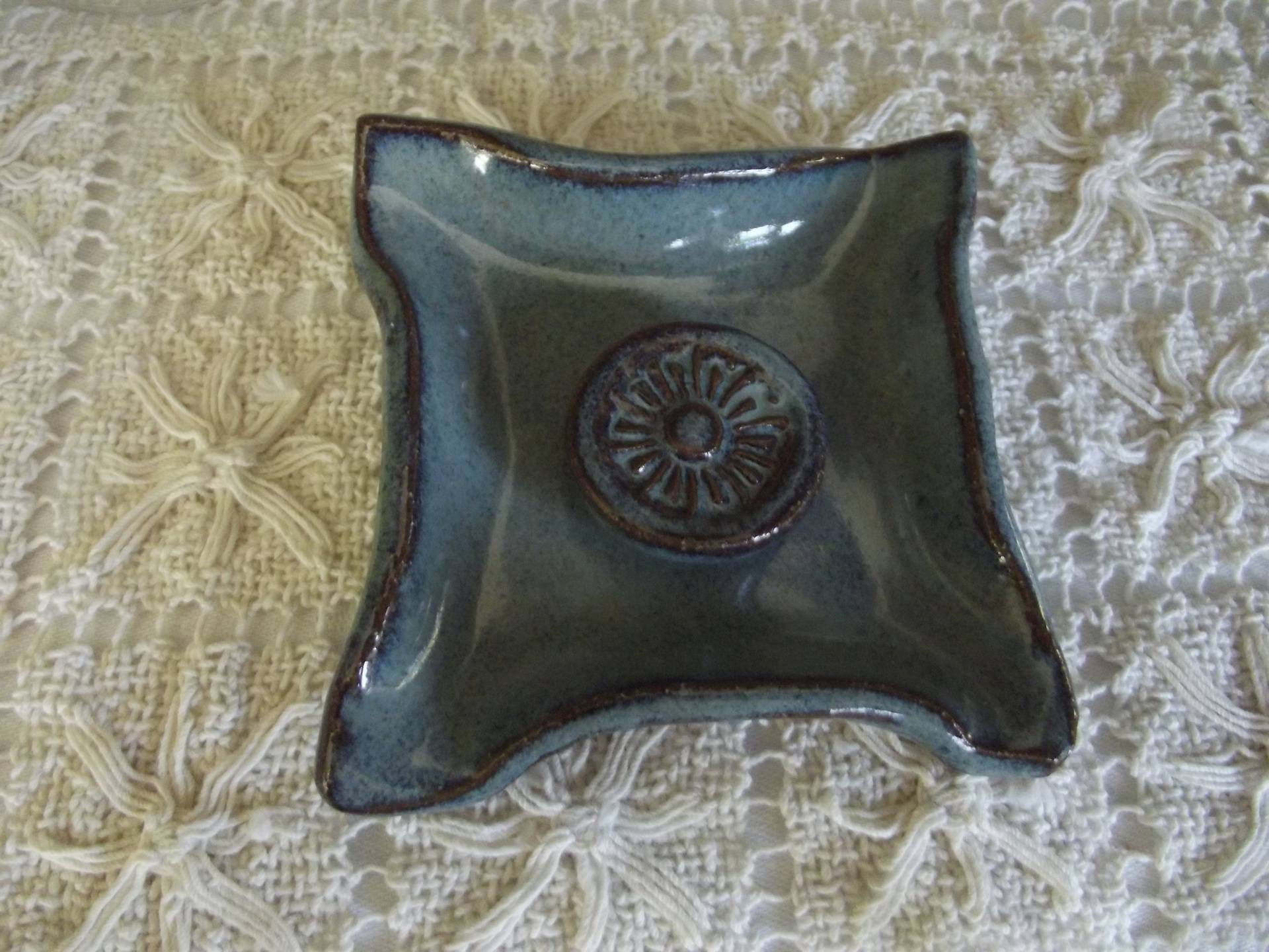 Back Creek Blue Pin Dish
