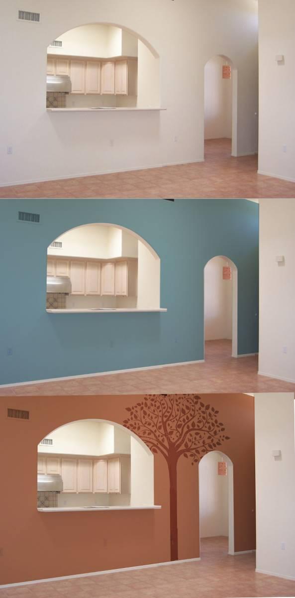 Paint color visualization