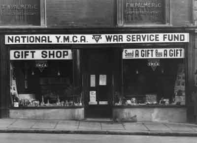 First YMCA Charity shop in Plymouth