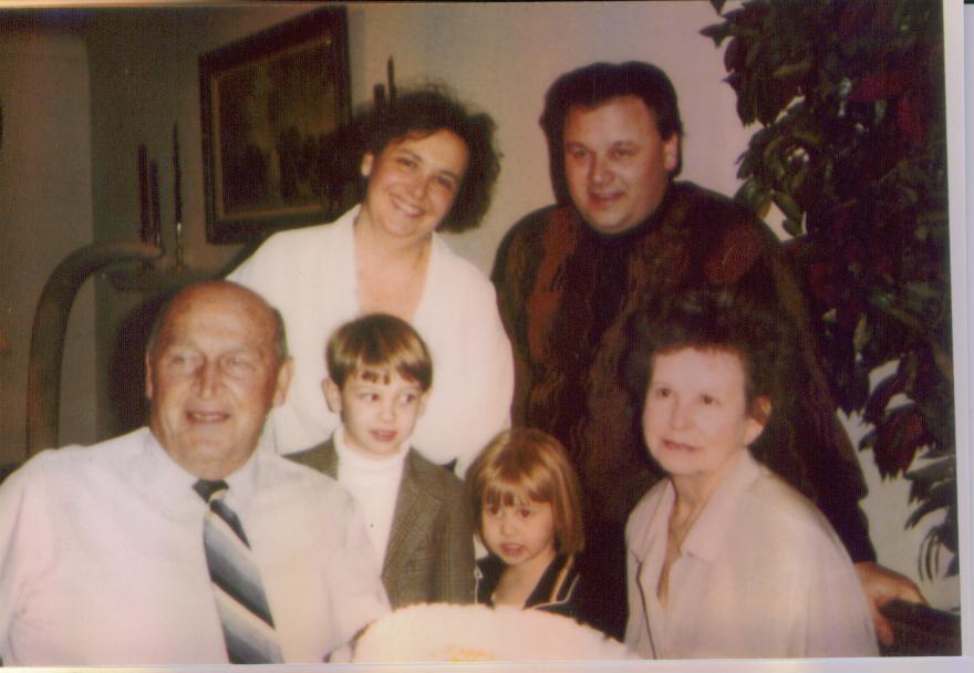 Letiticia Van Natten Jund Confer and family