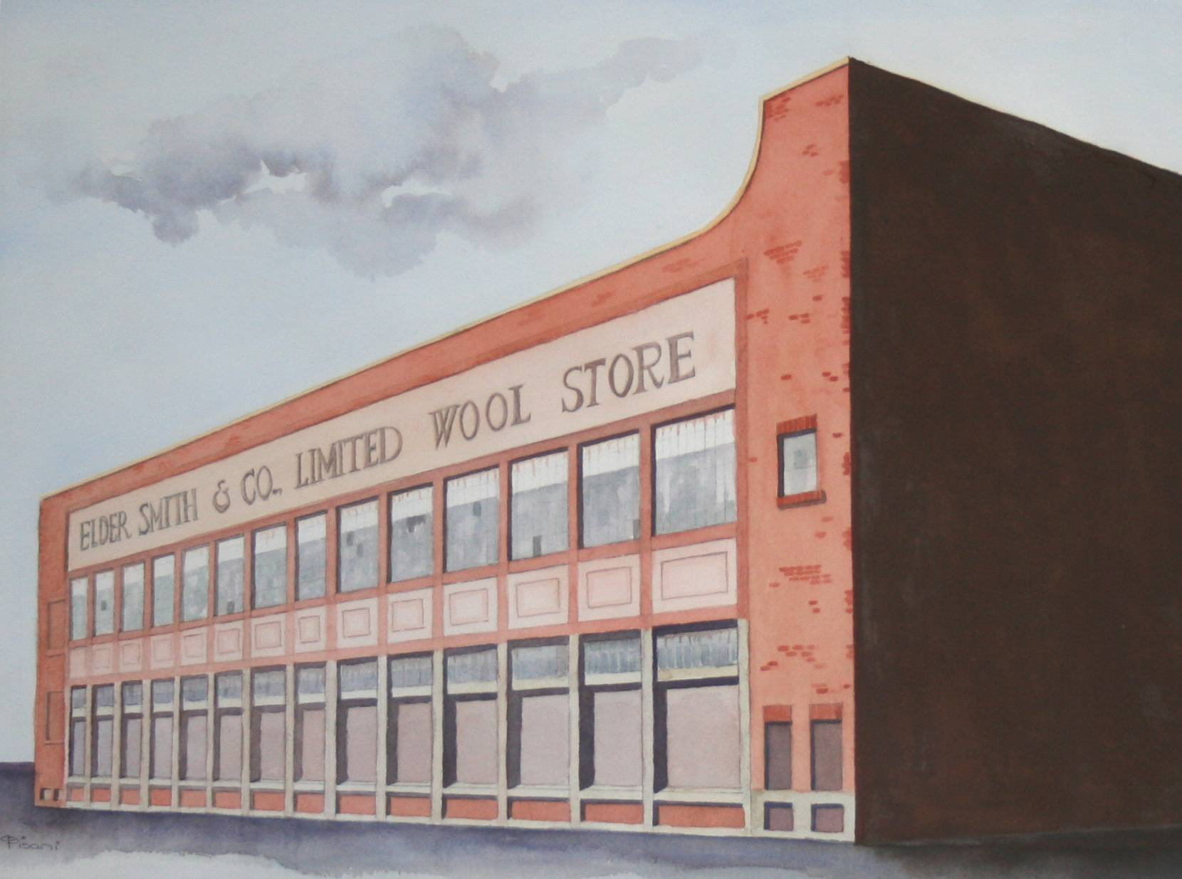 Elder Smith Wool Stores Port Adelaide I/D 514D