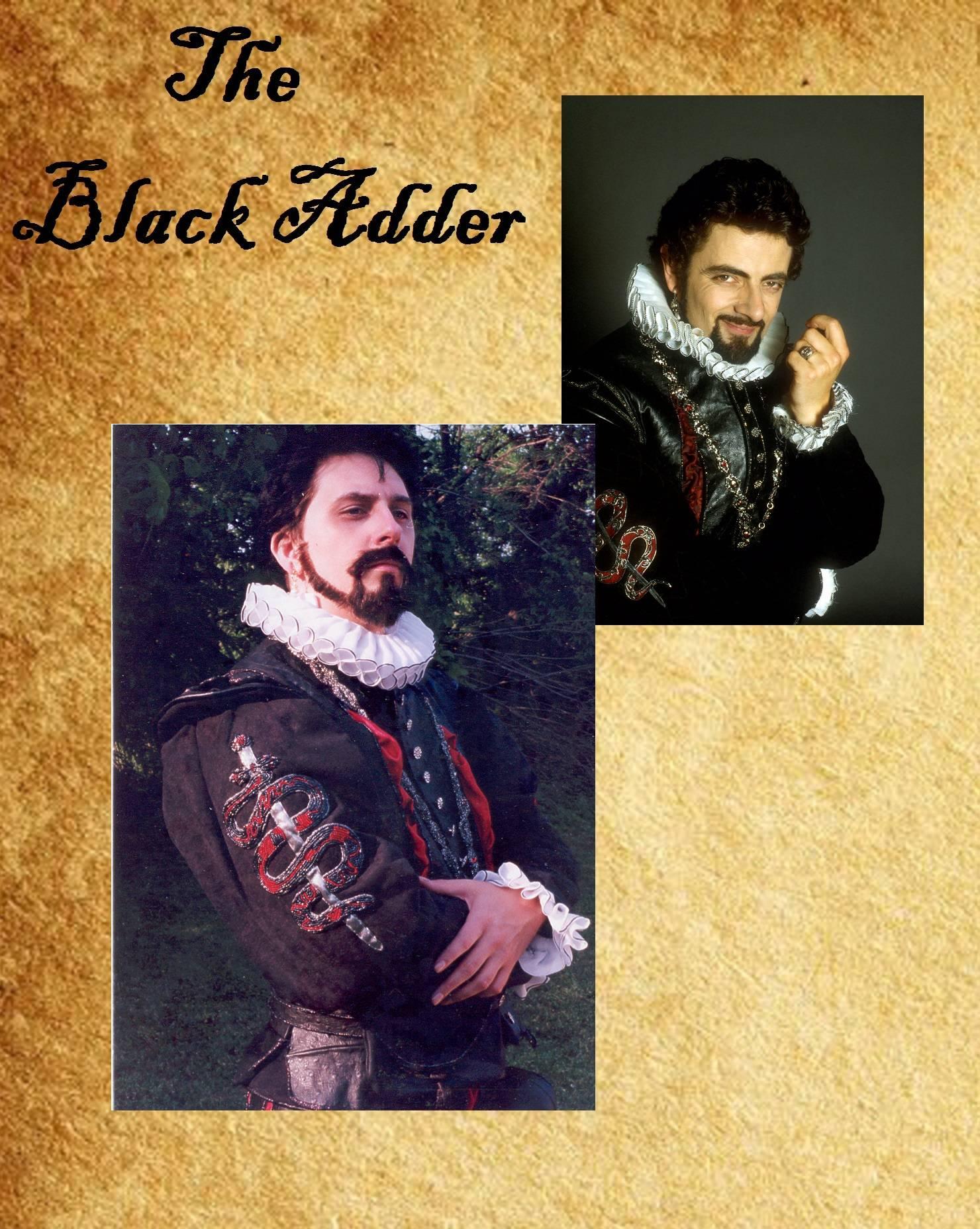 "Beard/mustache recreation (from the BBC TV series ""Black Adder"""