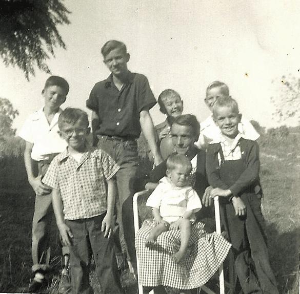 Cousins in 1953
