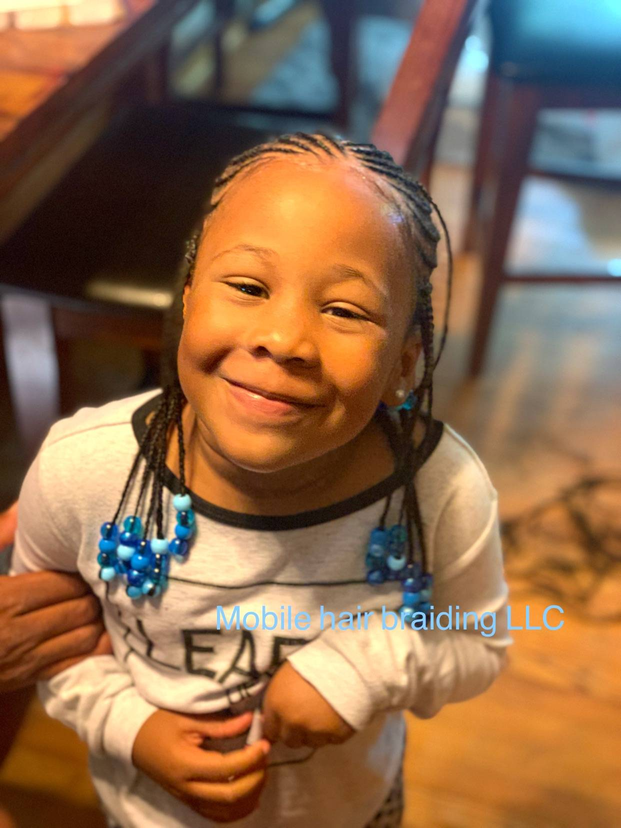 Kids Cornrows with beads completed in district heights, MD