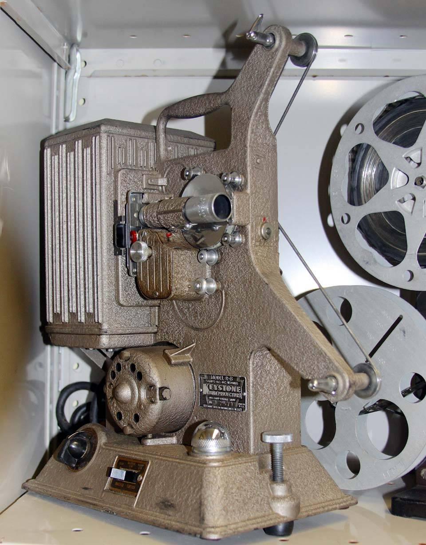 Keystone R-8 movie projector (8 mm) C. 1930's