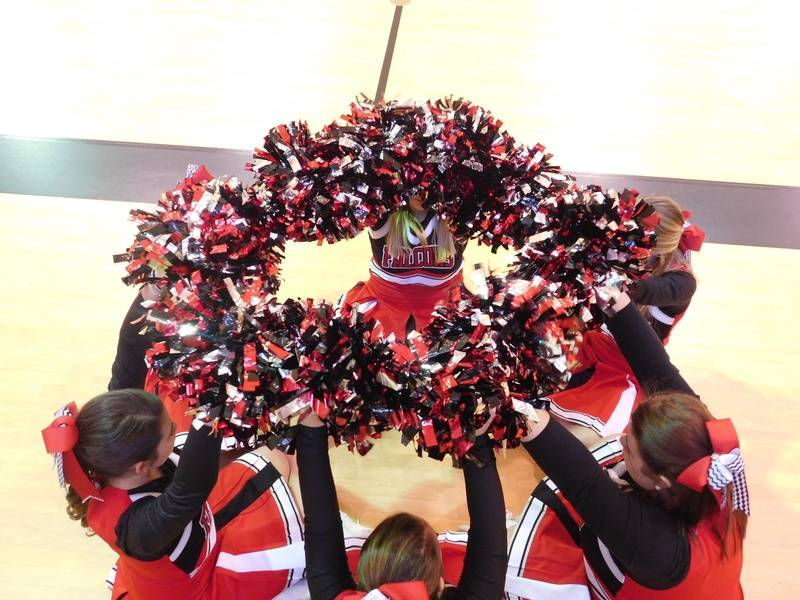Varsity Falcon Cheerleaders