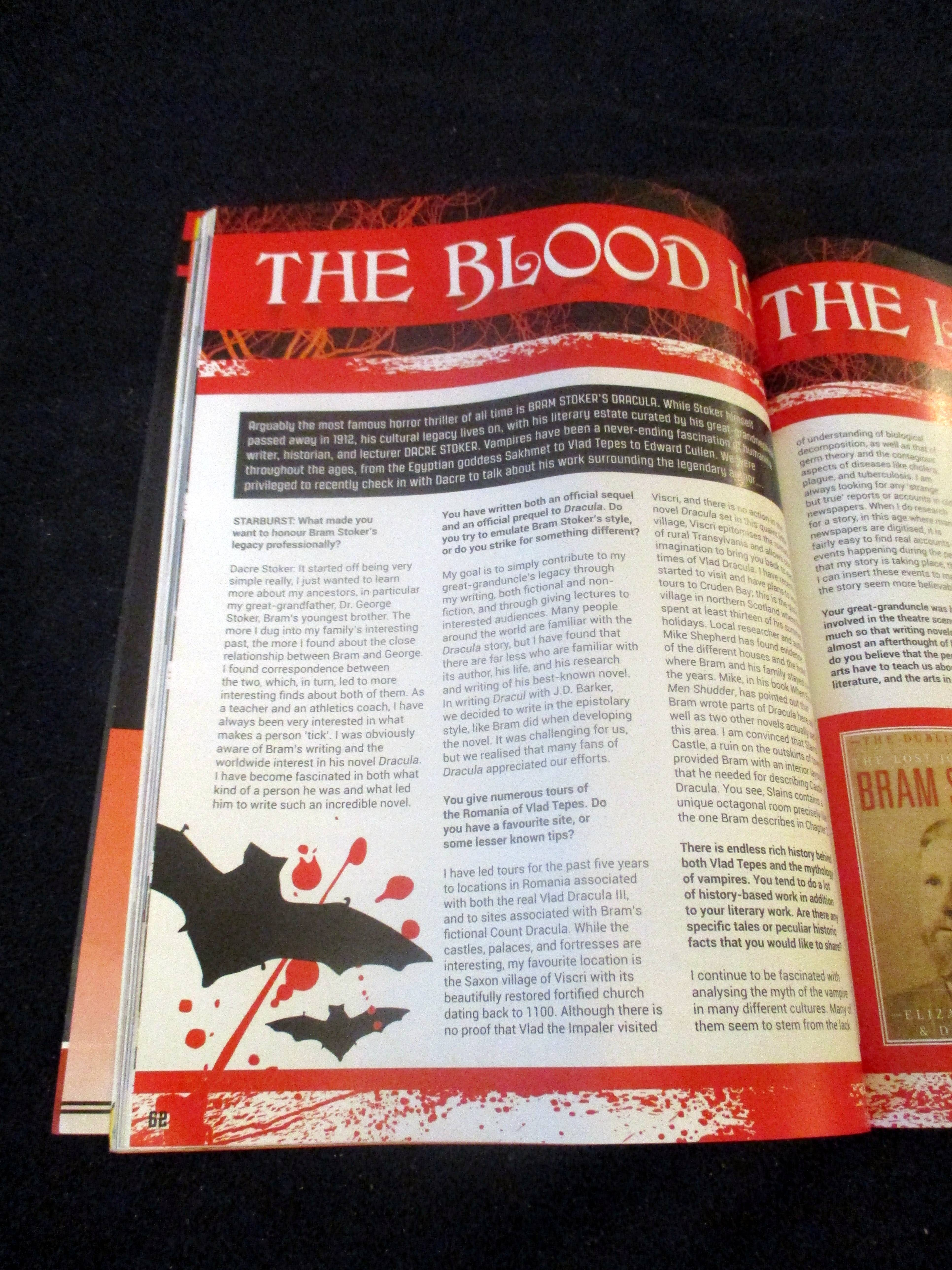 First Page of The Blood is the Life in Starburst Magazine #475: The Mandalorian Collectors¿ Edition at The Wombatorium 2.0: A Capital Idea