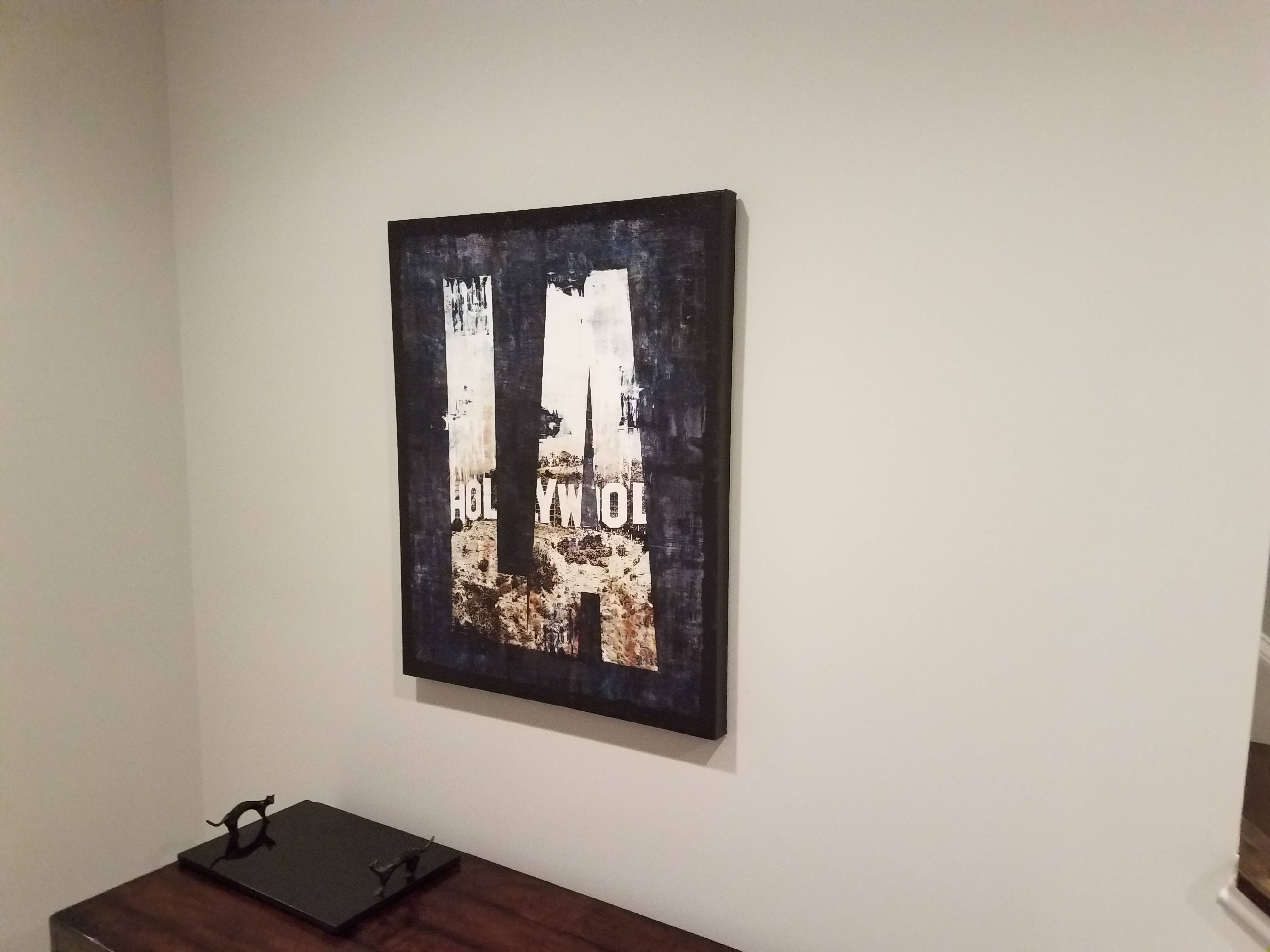 Picture hanging installation in poolesville MD
