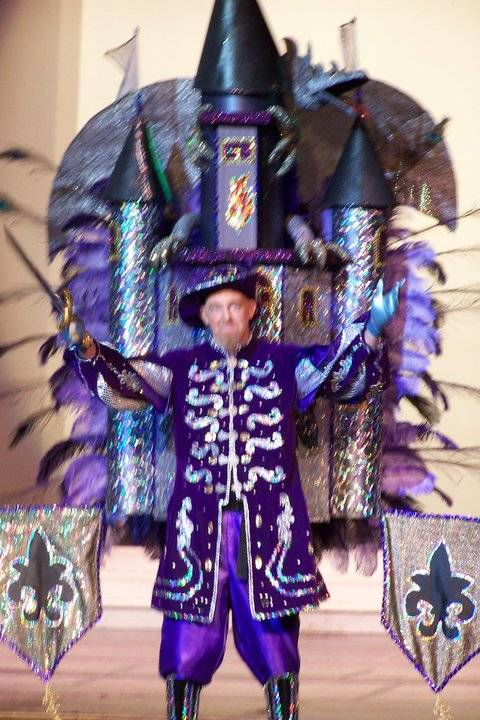 Krewe of Illusions costume