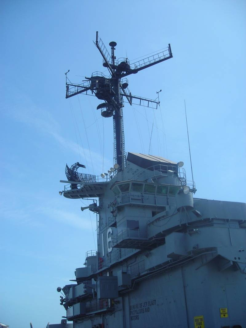 USS Lexington trip