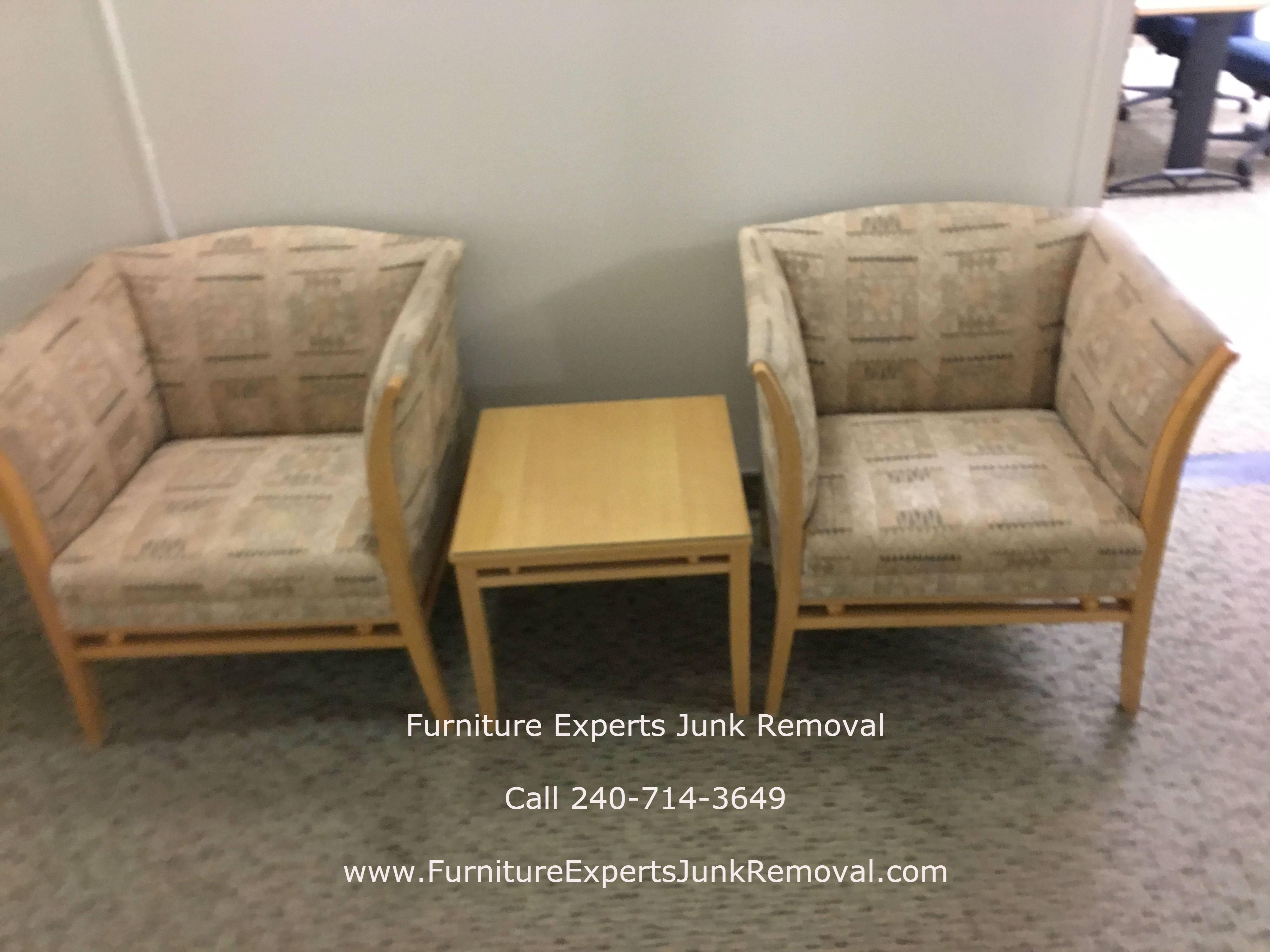 Junk office furniture removal in arlington VA