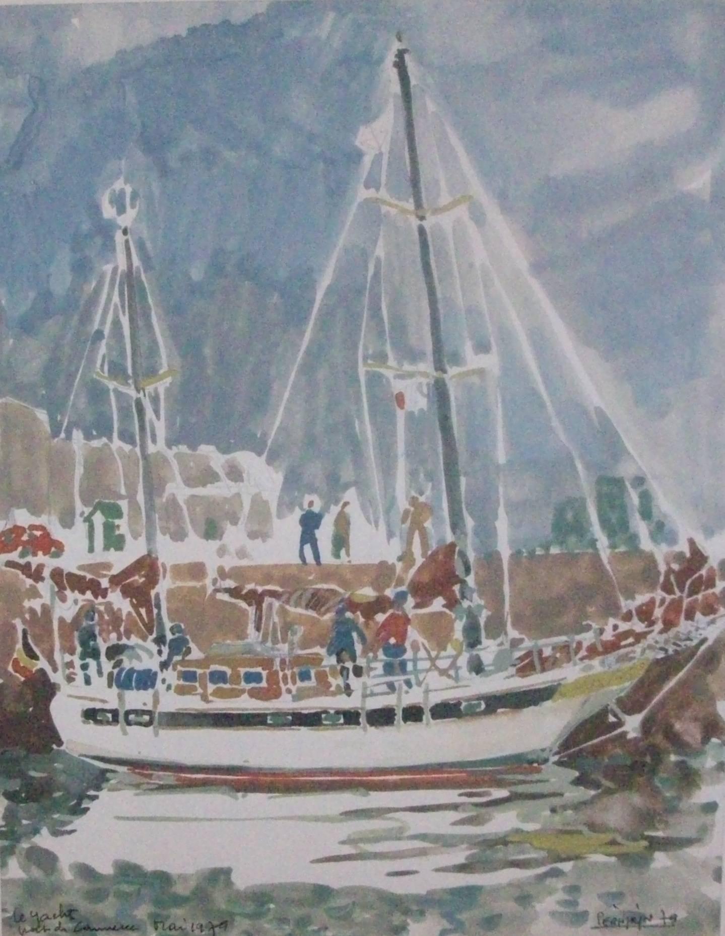 BREST Le YACHT Port de Commerce